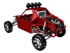 ST4 Two Seat Desert Buggy Plans   Badland Buggy