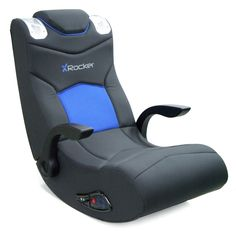 Have to have it. X-Rocker Ice Video Rocker Game Chair - $199.99 @hayneedle
