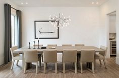 modern chrome finish chandeliers - Google Search
