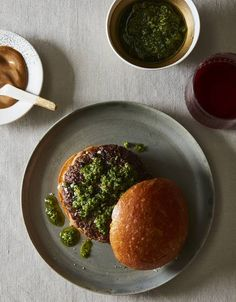 Massimo Bottura's Recipe for the 'Emilia' Burger With Salsa Verde and Balsamic Mayo