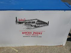 Clam Cakes, Rocky Point, Clams, Rhode Island, Old Things, Seashells