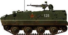 Chinese PLA Type 63 APC (YW531)