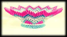 3d origami - vase
