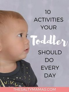 Looking for a way to entertain your busy little toddler all day? We've got the ideal schedule, with everything they need to help them grow, at TheSaltyMamas.com. #toddlerschedule #toddler #printabletoddlerschedule #toddlerdailyschedule #toddleractivities #toddlercrafts #craftsfortoddlers #activitiesfortoddlers #parents #momlife #kids #preschool #babies #oneyearold #twoyearoldideas #twoyearoldactivities