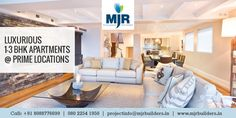 If You Want to be Live in #Bangalore then #MJRCliqueHydra & #MJRCliqueHercules are the Perfect Choice for you which Make your Life More Royal and Comfortable.