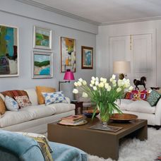 eclectic living room by Best & Company