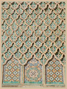 Moroccan patterns by Shahrazad26, via Flickr