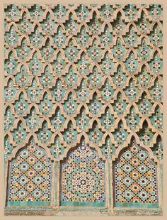 Moroccan patterns by Shahrazad26, via Flickr