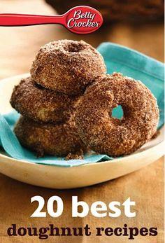 e-Cookbook Sale: Betty Crocker 20 Best Doughnut Recipes {$1.99} #doughnuts #donuts #recipe