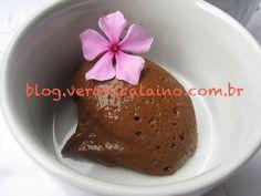 Mousse de Chocolate Saudável Esta receita não leva creme de leite ou leite condensado!