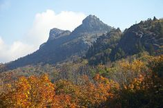 Grandfather Mountain - adjacent to the Blue Ridge Parkway near Linville & Blowing Rock, NC. Blowing Rock North Carolina, Blowing Rock Nc, Linear Park, Most Visited National Parks, Blue Ridge Parkway, Fictional World, Amish Country, Great Smoky Mountains, Natural Phenomena