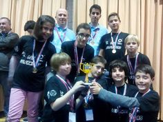 Fin de la #FLLMadrid! Enhorabuena a nuestros chic@s! Hemos ganado el premio a la mejor presentación del proyecto!