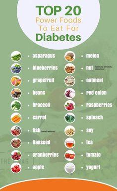 Diabetic Food List, Diabetic Meal Plan, Diet Food List, Food Lists, Diabetic Tips, Diabetic Snacks Type 2, Diabetic Desserts, Diabetic Smoothie Recipes, Diabetic Breakfast Recipes