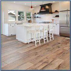 (paid link) Kitchen Engineered Wood Flooring | Top Brands #woodfloorkitchen