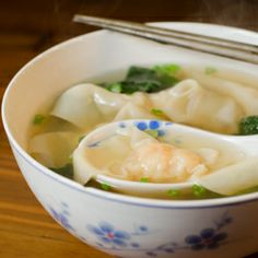 Craving Wonton soup but not looking for MSG or grease? Make it at home!