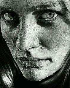 Drawing Pencil Portraits - drawings portrait realistic pencil Blob on Face by Olga Larionova Discover The Secrets Of Drawing Realistic Pencil Portraits Pencil Portrait, Hyperrealism, Sketches, Drawing People, Art Drawings, Photorealism, Realistic Art, Portrait, Pencil