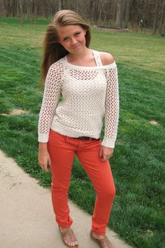cute spring outfit all from american eagle