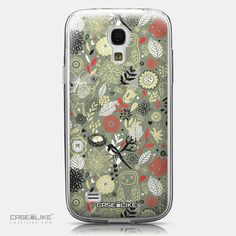 CASEiLIKE Samsung Galaxy S4 mini back cover Spring Forest Gray 2243
