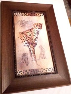Home Interiors and Gifts Cheetah And Lion Safari pictures print by J.Gibson X Slight wear on frame ( see photos) Pictures To Paint, Print Pictures, Home Interiors And Gifts, Limited Edition Prints, Cheetah, Paintings, Frame, Ebay, Home Decor