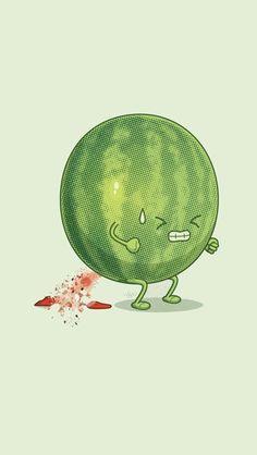Watermelon explosive diarrhea
