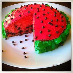 Watermelon cake :)