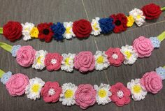 Midsommarkrans – PysselNetan Baby Knitting Patterns, Crochet Patterns, Textiles, Destiny's Child, Business For Kids, Pattern Mixing, Diy Crochet, Crochet Ideas, Crochet Clothes