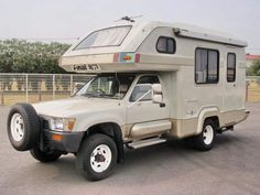 Now THIS is a Toyota camper.  4WD HILUX.