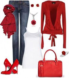 A fashion look from February 2013 featuring Patrizia Pepe cardigans, Lounge Lover tops and MANGO jeans. Browse and shop related looks. Classy Outfits, Pretty Outfits, Chic Outfits, Fall Outfits, Fashion Outfits, Womens Fashion, Woman Outfits, Casual Chic, Casual Wear