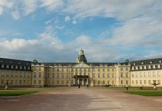 Karlsruhe - Germany, the Schloss. This was so amazing to see in person.