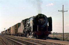 South African Railways, Steam Locomotive, Big Boys, Pjs, Type 1, Planes, Trains, Theater, Queens