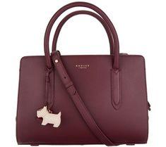 RADLEY London Liverpool Street Leather Medium Satchel Handbag