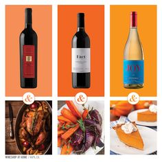 What pairs well with herb-roasted turkey, roasted root vegetables and pumpkin pie this Thanksgiving? Shop these wines now to get them in time for Turkey Day! Have questions, contact me. http://wsah.life/xxk8m