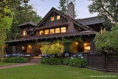 /\ /\ . 1905 Theophilus Allen House, Palo Alto, California