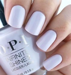 Lilac nail polish #nails #nailart
