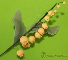 Gumpaste Lily of the Valley Tutorial  #sugarcraft #gumpasteflower #lilyofthevalley