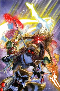 Guardians of the Galaxy - Alex Ross