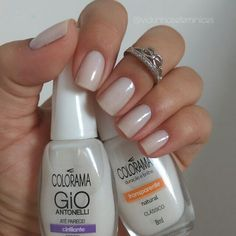 Semi-permanent varnish, false nails, patches: which manicure to choose? - My Nails Cute Nails, Pretty Nails, My Nails, Fabulous Nails, Perfect Nails, Nails Decoradas, Natural Gel Nails, Uñas Fashion, Manicure Y Pedicure