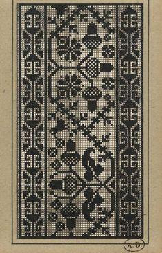 Gallery.ru / Фото #65 - старинные ковры и схемы для вышивки - SvetlanN