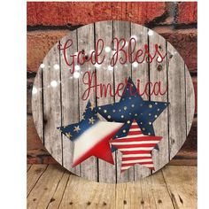 Patriotic Crafts, Patriotic Decorations, July Crafts, Summer Crafts, Holiday Crafts, Patriotic Party, Diy Signs, Wood Signs, Fourth Of July Decor