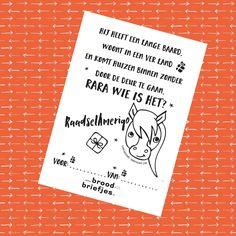 Sinterklaas BroodBriefjes Actie