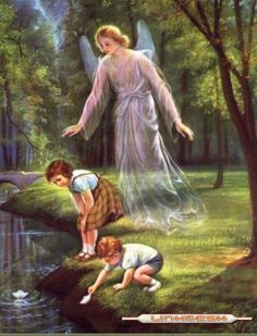 Please guardian angels , watch over all the children. In Jesus name I pray. Angel Protector, Entertaining Angels, I Believe In Angels, Angel Pictures, Angels Among Us, Angels In Heaven, Guardian Angels, Angel Art, Christian Art