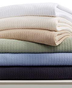 Lauren Ralph Lauren Classic Cotton Full/Queen Blanket - Blankets & Throws - Bed & Bath - Macy's