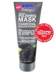 Charcoal & Black Sugar Facial Polishing Mask. Only $5 and truly amazing. Glowing skin. Promise.