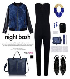 """NEWCHIC.COM: Night bash"" by hamaly ❤ liked on Polyvore featuring Louis Vuitton, Valentino, Surratt, Christian Dior, BCBGMAXAZRIA, women's clothing, women, female, woman and misses"