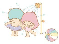 Swimming ★Little Twin Stars★