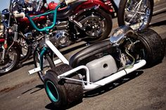Trike Drifting anyone? My Dream Car, Dream Cars, Bike Drift, Skate Longboard, Drift Trike Motorized, Custom Trikes, Custom Cars, Kids Ride On, Big Wheel