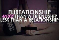 A Friendship Less Than A Relationship