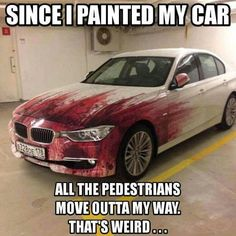I'm not certain I'd get this paint job on my car!