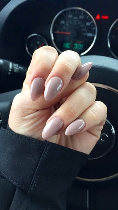 Almond Shape Acrylic Tips