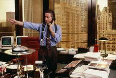Gordon Gekko. Wall Street. 1987